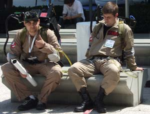 Ghostbusting at E3 can be hard work...